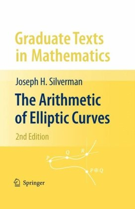 Arithmetic of Elliptic Curves  2nd 2009 edition cover