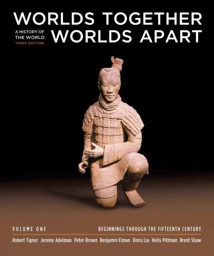 Worlds Together, Worlds Apart A History of the World - Beginnings Through the Fifteenth Century 3rd 2011 edition cover