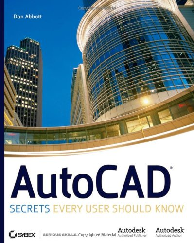 AutoCAD Secrets Every User Should Know  2007 edition cover