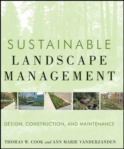 Sustainable Landscape Management Design, Construction, and Maintenance  2011 9780470480939 Front Cover