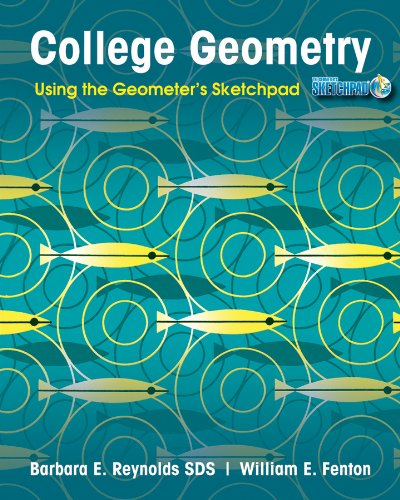 College Geometry Using the Geometer's Sketchpad  2012 edition cover