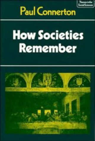 How Societies Remember   1989 edition cover