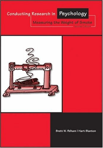 Conducting Research in Psychology Measuring the Weight of Smoke 2nd 2003 edition cover
