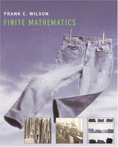 Finite Mathematics   2007 edition cover