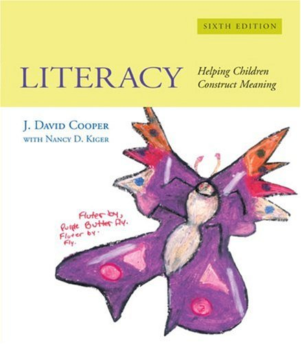 Literacy Helping Children Construct Meaning 6th 2006 edition cover