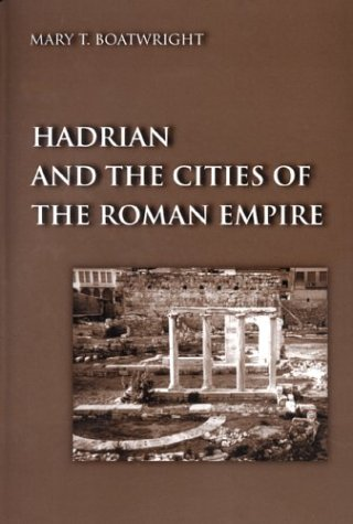 Hadrian and the Cities of the Roman Empire   2000 edition cover