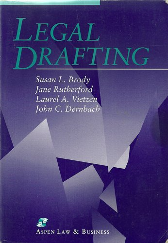 Legal Drafting   1994 edition cover