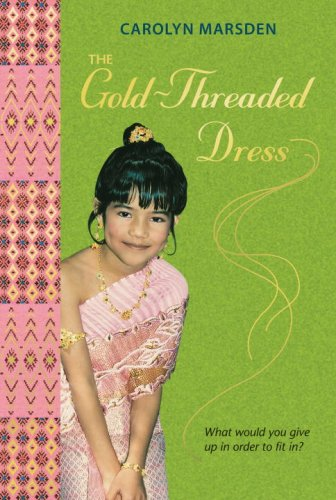 Gold-Threaded Dress  Reprint edition cover