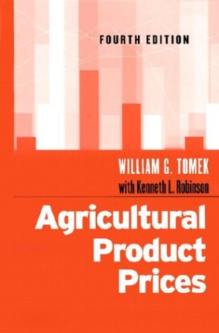 Agricultural Product Prices  4th 2003 (Revised) edition cover