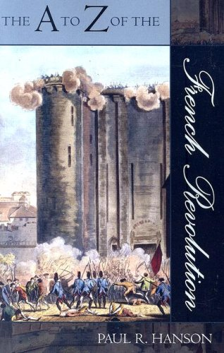 A to Z of the French Revolution  N/A edition cover