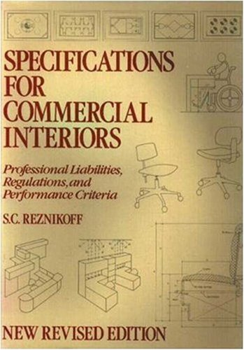 Specifications for Commercial Interiors  Revised  edition cover