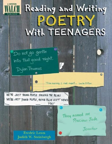 Reading and Writing Poetry with Teenagers  Teachers Edition, Instructors Manual, etc. edition cover