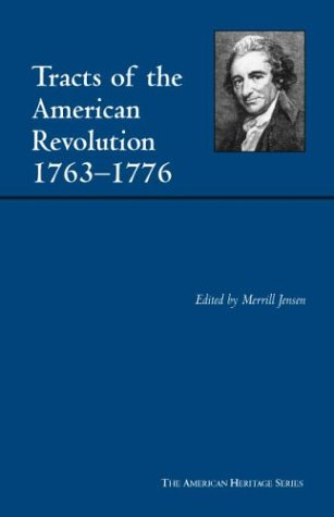 Tracts of the American Revolution, 1763-1776   2003 edition cover