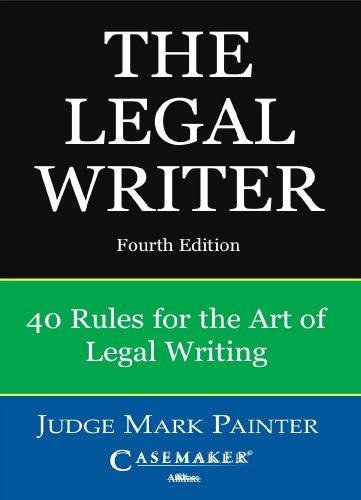 LEGAL WRITER N/A edition cover