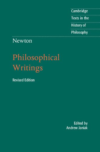Newton: Philosophical Writings  2nd 2014 (Revised) 9781107615939 Front Cover