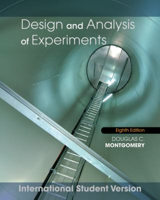 Design and Analysis of Experiments  8th 2013 9781118097939 Front Cover
