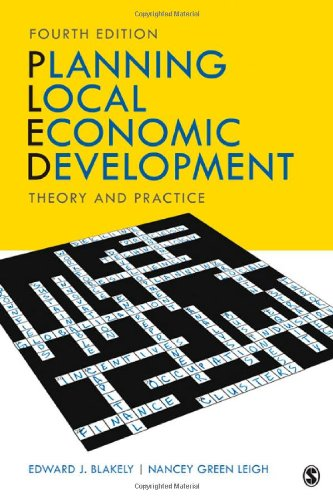 Planning Local Economic Development Theory and Practice 4th 2010 edition cover