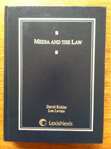 Media and the Law   2009 edition cover