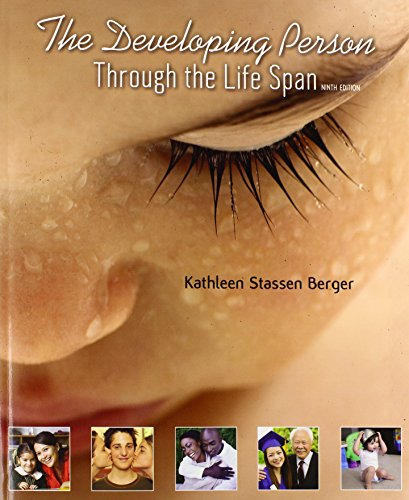 The Developing Person Through the Life Span:   2014 edition cover