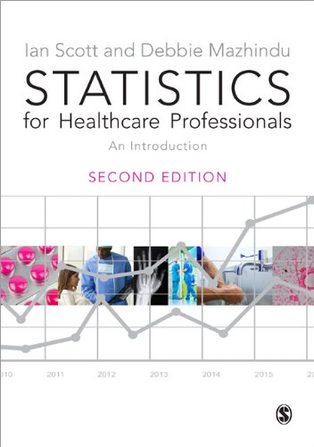 Statistics for Healthcare Professionals   2014 edition cover