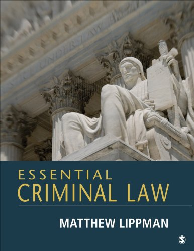 Essential Criminal Law   2014 edition cover
