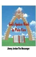 God's Spoken Word in Plain View   2013 9781491815939 Front Cover