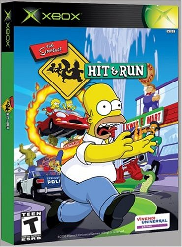 Simpsons: Hit and Run - Xbox Xbox artwork
