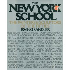 New York School The Painters and Sculptors of the Fifties N/A edition cover