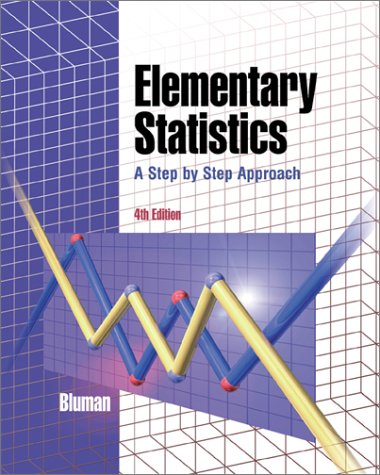 Elementary Statistics 4th 2001 edition cover