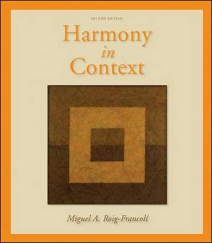 Harmony in Context  2nd 2011 edition cover