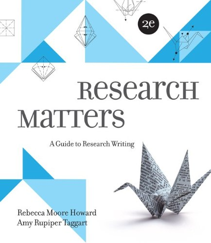 Research Matters  2nd 2013 edition cover