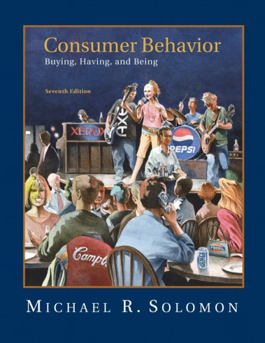 Consumer Behavior  7th 2007 (Revised) 9780132186940 Front Cover