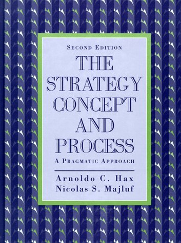 Strategy Concept and Process The A Pragmatic Approach 2nd 1996 edition cover