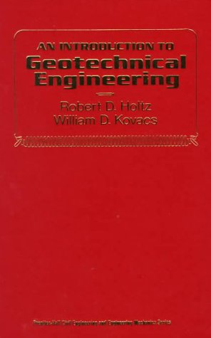 Introduction to Geotechnical Engineering   1981 edition cover