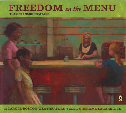 Freedom on the Menu The Greensboro Sit-Ins N/A edition cover