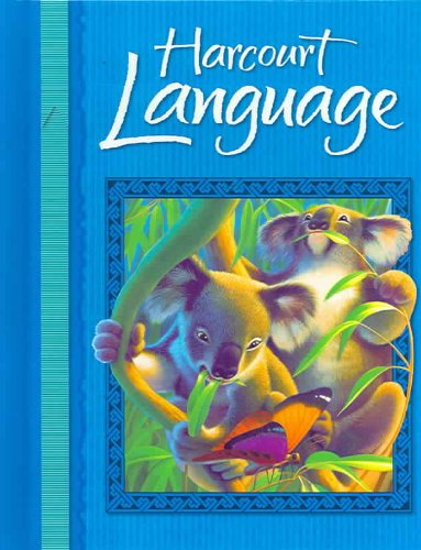 Harcourt Language  2nd 2002 (Guide (Pupil's)) 9780153190940 Front Cover
