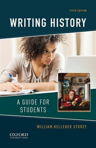 Writing History A Guide for Students 5th 2016 edition cover