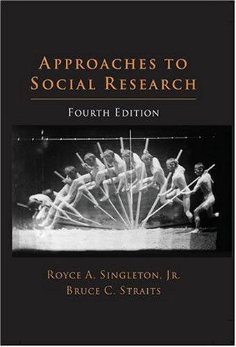 Approaches to Social Research  4th 2004 (Revised) edition cover