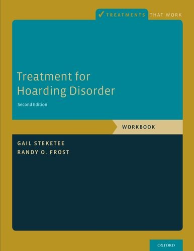 Treatment for Hoarding Disorder Workbook 2nd edition cover
