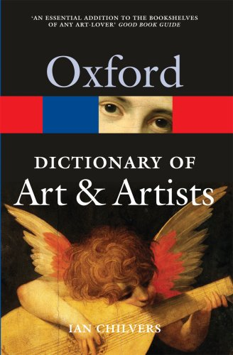 Oxford Dictionary of Art and Artists  5th 2009 edition cover