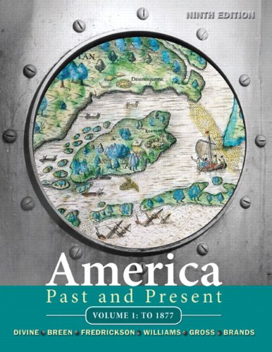 America Past and Present  9th 2011 edition cover