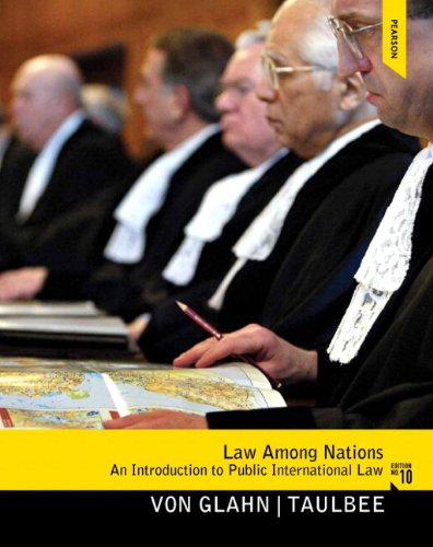 Law among Nations An Introduction to Public International Law 10th 2013 edition cover