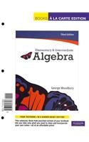 Elementary and Intermediate Algebra  3rd 2012 edition cover