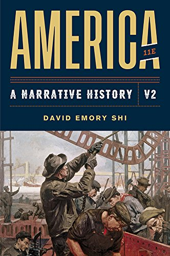 America: A Narrative History  2019 9780393668940 Front Cover