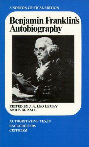 Benjamin Franklin's Autobiography   1986 edition cover