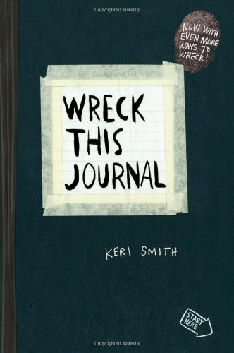 Wreck This Journal (Black) Expanded Ed   2016 9780399161940 Front Cover