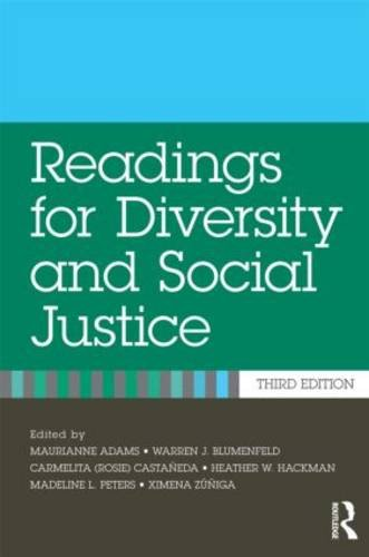 Readings for Diversity and Social Justice  3rd 2013 (Revised) 9780415892940 Front Cover