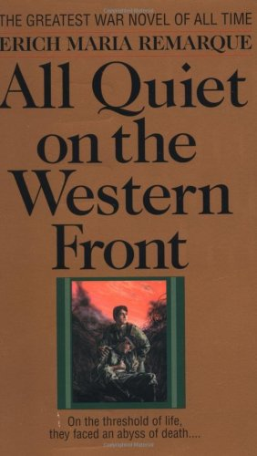 All Quiet on the Western Front   1958 9780449213940 Front Cover