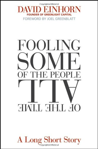 Fooling Some of the People All of the Time A Long Short Story  2008 edition cover