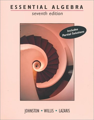 Essential Algebra  7th 1995 (Revised) edition cover